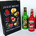 Magical Juice Menu by Tora Magic - Tour