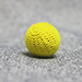 Crochet Ball .75 inch Single (Yellow) by Mr. Magic - Tour