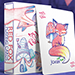 Red Fox Playing Cards (Purple)