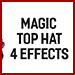 Magic Top Hat (4 effect) by 7 MAGIC - Trick