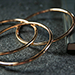 "4"" Linking Rings (Gold) by TCC - Trick"
