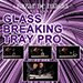 Glass Breaking Tray Pro (Tray and DVD) by Bazar de Magia - Trick