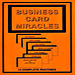 Business Card Miracles book