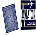 Cards Aviator Jumbo Index Poker Size (Blue)