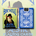 Bicycle Blue AEsir Viking Gods Deck (Blue) by US Playing Card Co.