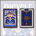 Bicycle Dragon Back Cards (Blue) by USPCC
