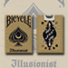 Bicycle Illusionist Deck Limited Edition (Light) by LUX Playing Cards