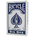 Big Bicycle Cards (Jumbo Bicycle Cards, Blue)