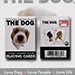 Mini Dog Playing Cards by US Playing Card Co.