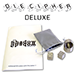 Die Cipher Deluxe Set (Stainless Steel) ( Esp and Pip Die ) by Chazpro Magic - Trick