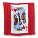 "18"" King of Hearts Card Silk by Magic by Gosh - Trick"