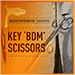 Key BDM Scissors by Bazar de Magia - Trick