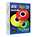 Manipulation Mini CDs (Original Shape, Colored) by Live Magic - Trick