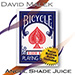 Marked Deck (Blue Bicycle Style, Angel Shade Juice) by David Malek - Trick