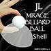Two Inch Mirage Billiard Balls by JL (WHITE, shell only) - Tour