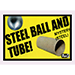 Ball and Tube Mystery (Steel) by Mr. Magic - Tour