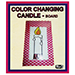 Color Changing Candle by Mr. Magic - Tour