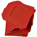 Nest of Wallet Refill Envelopes 50 units (Red with Window) - Trick
