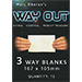 Refill for Way Out XII (3way/Standard) by Marc Oberon - Tour