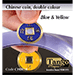 Chinese Coin (CH0018) Blue & Yellow by Tango Magic - Tricks