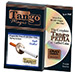 Cigarette Through Half Dollar (One Sided w/DVD) (D0014)by Tango - Trick