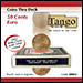 Coins thru Deck 50 cent Euro by Tango - Trick (E0068)