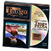 Euro-Dollar Copper And Silver (50 Cent Euro and Quarter Dollar w/DVD)(ED003)by Tango Magic-Trick