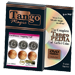 Eisenhower Hopping Half (w/DVD) (D0143) by Tango Magic - Trick