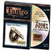 Flipper Chinese Coin Black (w/DVD) (CH012) by Tango - Trick