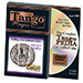 Folding Coin Quarter (D0021) (Traditional w/DVD) by Tango Magic - Trick (D0021)