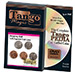 Hopping Half with Expanded Shell Coins & English Penny (w/DVD) D0059 by Tango - Trick