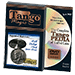Tango Silver Line Expanded Shell Silver Half Dollar 1964 (pure silver w/DVD- D0004) by Tango - Trick