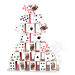"Card Castle (17"") by Uday - Tour"