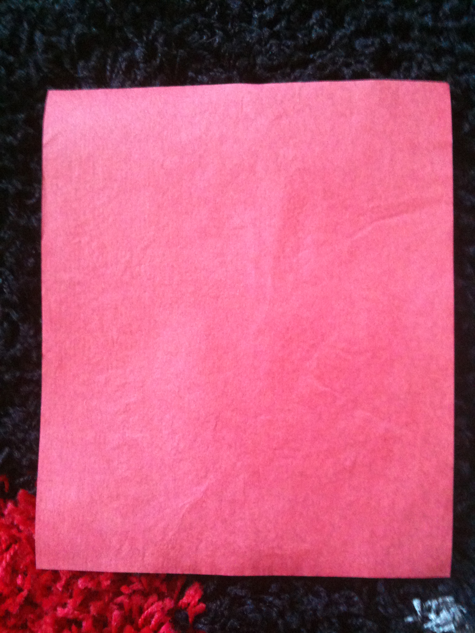 Papier Flash Premium Rouge de 25 x 20 cm